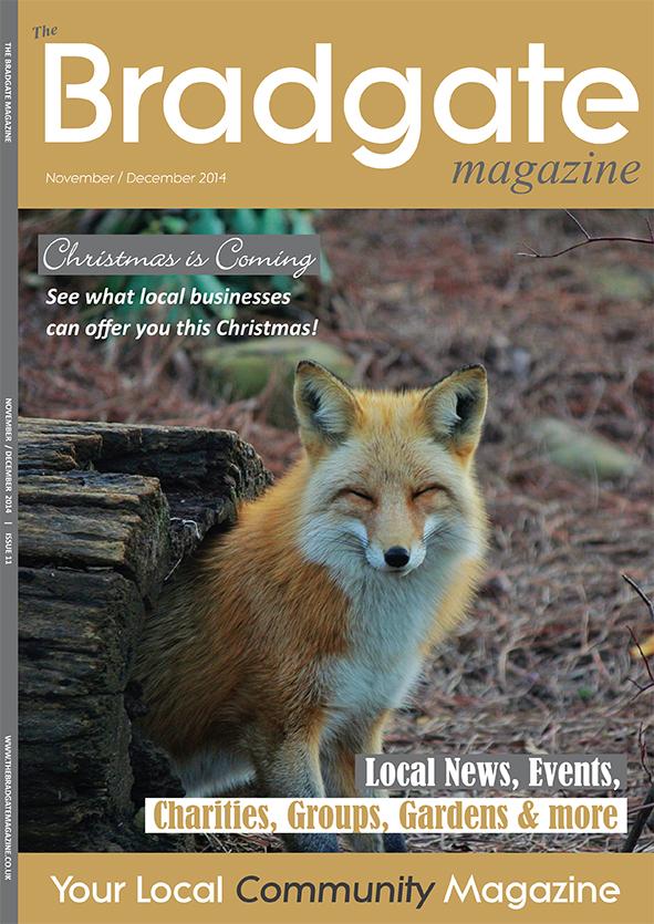 Bradgate November 2014 cover
